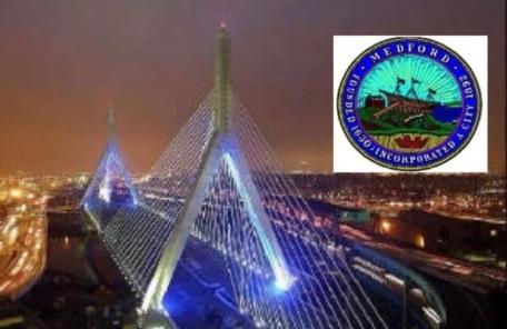 Medford News Weekly bridge logo